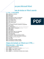 Atajos para Microsoft Word.docx