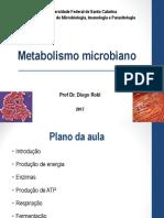 4- Metabolismo bacteriano