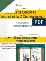 [SLIDE] Modelos Instrucionista e Construcionista de Educação -140407180253-Phpapp02