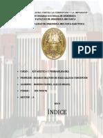 Primera Parte Del Trabajo de Estadistica,Descriptiva y Probabilidades