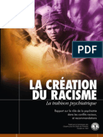 La Creation Du Racisme La Trahison Psychiatrique French