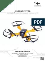Manual de Instrucciones Del Drone X DRONE FLYPRO Dron Resistente Para Principiantes de Toy Stand La Tienda Online de Drones