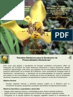 Presentación 1, Botànica2018-I