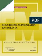 Seguridad Alimentaría en Bolivia (Pdf).pdf