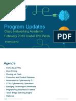 Program Updates GIPD