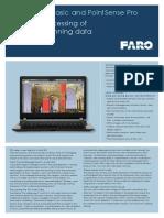 En FARO PointSense Basic Pro TechSheet