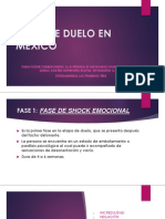 Fases de Duelo en México