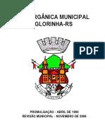 Lei Orgânica de Glórinha RS