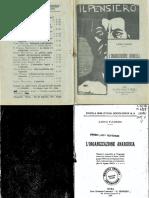 Luigi Fabbri - L'organizzazione Anarchica (1907=