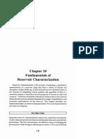fundamental of reservoir characterization