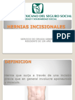 Hernias Incisionales