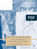 José María Rodríguez García (auth.) - The City of Translation_ Poetry and Ideology in Nineteenth-Century Colombia (2010, Palgrave Macmillan US).pdf