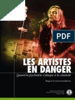 Les Artistes en Danger French