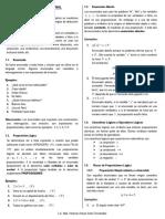 Lógica Proposicional - Teoría y Ejercicios(Pdf)