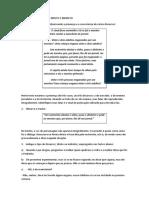 Exercicios de Discurso Direto e Indireto