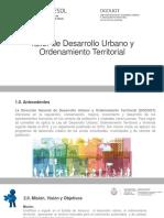 Taller de Desarrollo Urbano y Ordenamiento Territorial