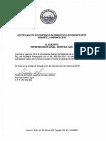 3. Certificado de Excedentes