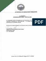 4. Certificado de Asignaciones Permanentes