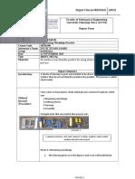 Sheet Metal Report
