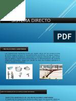 Sistema Directo y Indirecta
