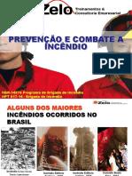 Palestra de Prevenção e Combate a Incendio