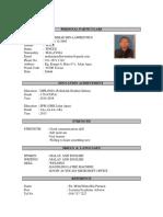 Resume Mohd
