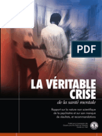 La Véritable Crise de la Santé Mentale French