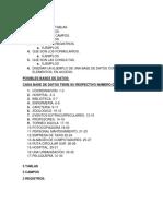 Consulta Access 9º