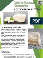 Proceso de fabricacion del tofu