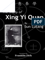 The Study of Xing Yi Quan_ Xing - Lutang Sun.pdf