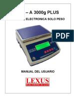 Calibracion Lexus Mix