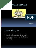 Domain Belajar