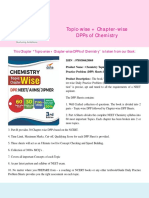 Disha Publication Topic Wise Chapter Wise DPPs of Chemistry. CB1198675309