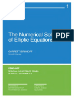 Birkhoff - Numerical Solution of Elliptic Equations.pdf