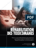 Réhabilitation des Toxicomanes French
