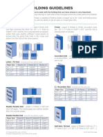 Folding Guidelines