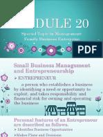 Family Business Enterprise