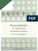 Panikkar Raimon - El Dialogo Indispensable