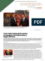 Coca Codo, La Joya de La Corona Se Inaugura Con Sobrecostos y Largos Retrasos _ Plan V