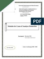 Cours  + TD  d'analyse financière BASS.pdf