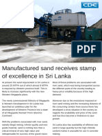 Manufactured Sands Plant Sri Lanka