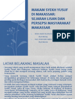 Makam Syekh Yusuf Di Makassar