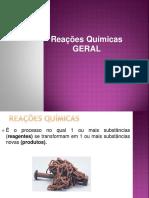 reaçoes quimica