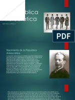 Republica Aristocrática