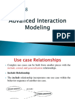 Chapter 8-Advanced Interaction Modeling