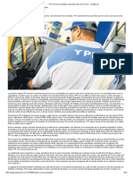 YPF se suma al tarifazo