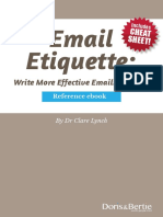 Email Etiquette Course Book New