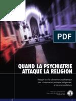 Quand La Psychiatrie Attaque La Religion