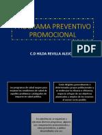 Programa Preventivo Promocional