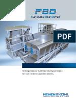 report on fluidised bed dryer